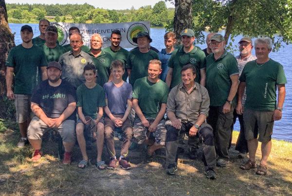 Teilnehmer am Königsfischen 2018